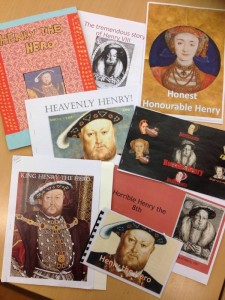 "Biased storybooks about Henry VIII (""Hero or Villain?"")"