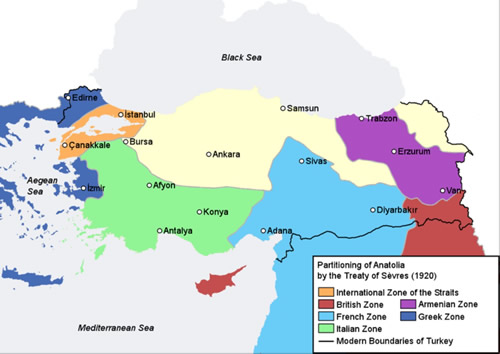 The Treaty of Sevres 1 The Middle East ActiveHistory
